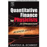 【预订】Quantitative Finance for Physicists 9780120884643