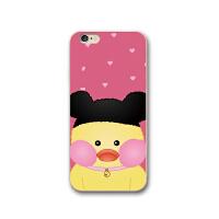 苹果8手机壳软萌玻尿酸小黄鸭iphone7plus保护套6s硅胶软壳 可爱