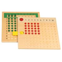 蒙氏数学运算教具教具乘除法板小学生儿童早教启蒙玩具
