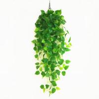 假树叶装饰遮挡挂墙绿植仿真树叶子绿萝假花藤条室内植物吊兰绿色叶垂吊