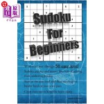 【中商海外直订】Sudoku for Beginners: 50 Easy Level Math Puzzles to