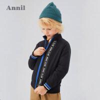 【活动价:166】安奈儿童装男童外套秋冬季2020春季新款男童中大童休闲洋气外套潮
