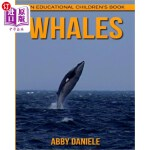 【中商海外直订】Whales! An Educational Children's Book about Whales