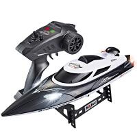 六一儿童节礼物高速遥控船快艇玩具船模充电高速摇控玩具船防水航模型船快艇高速摇控赛艇水冷遥控车 玩具