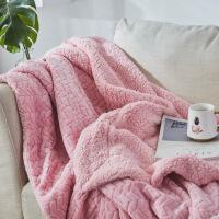 法兰绒珊瑚绒毯子毛毯被子加厚单人双人冬季保暖