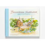 现货包邮 英文原版Barcelona Sketchbook:巴塞罗那水彩手绘手稿写生艺术画册