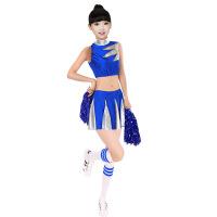 【新品特惠】 少儿啦啦队服装幼儿舞蹈服装舞台装六一儿童表演服啦啦操演出服潮