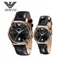 ARMANI阿玛尼手表情侣手表正品男表石英表手表AR2444 AR2445正品