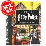 现货 哈利波特迷你艺术设定集:魔法圣地 The Art of Harry Potter: Mini Book of M