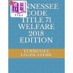 【中商海外直订】Tennessee Code Title 71 Welfare 2018 Edition