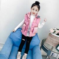 儿童马甲秋冬2018新款韩版冬季外穿保暖加厚棉衣坎肩女孩