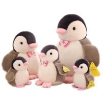 可爱小企鹅公仔毛绒玩具儿童玩偶女孩书包挂件迷你超萌海洋馆同款 粉嘴企鹅公仔