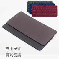 k380键盘包简约轻薄直插套罗技K380 k480蓝牙键盘专用保护套皮套内胆包袋p K480 黑色 简约套