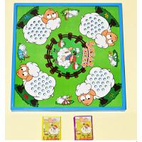 教室 儿童暑假早教益智亲子互动桌面棋牌游戏桌游玩具 剪羊毛
