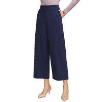 网易严选 女式高腰直筒阔腿裤