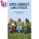 【中商海外直订】Lewis Carroll's Games and Puzzles