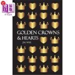 【中商海外直订】Golden Crowns and Hearts