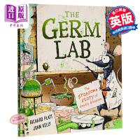 【中商原版】细菌实验室:致命疾病的可怕故事 The Germ Lab 儿童科普 科普绘本故事书 独立阅读入门 7~12