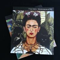 [Masterpieces of Art] Frida Kahlo,弗里达・卡罗 英文原版艺术图书 画册画集
