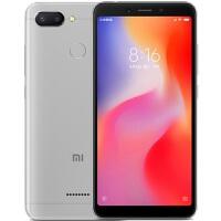 Xiaomi/小米 红米6 手机AI双摄全面屏(3+32GB)铂银灰