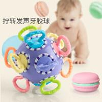 婴儿橡胶磨牙玩具 婴儿3宝宝磨牙棒0玩具6硅胶软12个月香蕉牙胶可水煮