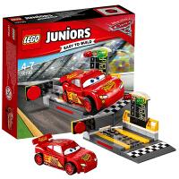 [当当自营]LEGO 乐高 Juniors小拼砌师系列 闪电麦昆极速发射器 积木拼插儿童益智玩具10730