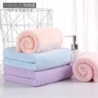 依明洁洗脸毛巾纯棉家用洗澡加厚柔软吸水不掉毛洗脸面巾