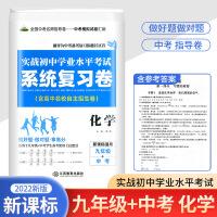 实战初中学业水平考试系统复习卷 九年级+中考 化学 新课标2022版