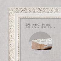 十字�C框架�b裱 ��框�b裱框架十字�C�框相框�W式拼�D婚�大��ν舛ㄗ龆ㄖ� 乳白色 m3001-3w 白色 【�系客服】