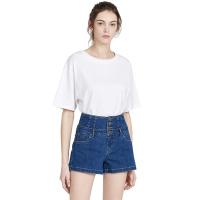 【网易严选 限时抢】女式奢华干爽全棉廓形T恤--宽松有型