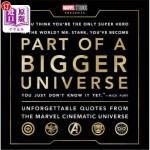【中商海外直订】Part of a Bigger Universe: Unforgettable Quotes fro