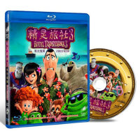正版 精灵旅社3疯狂假期 BD50蓝光儿童高清动画电影光盘碟片