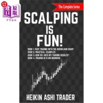 【中商海外直订】Scalping is Fun! 1-4: Book 1: Fast Trading with the