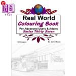 【中商海外直订】Real World Colouring Books Series 37