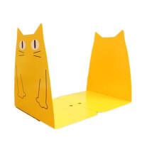 书立巨门桌上0013可爱兔子头/猫头 创意书挡 书靠 书架 颜色随机
