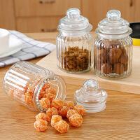 透明玻璃密封罐带盖厨房食品保鲜罐茶叶罐储物罐防潮收纳罐 图片色