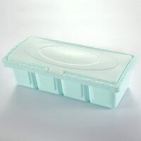 厨房调味盒塑料调味罐套装家用佐料味精收纳盒盐罐调料罐调味料盒