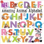 【中商海外直订】Amazing Animal Alphabet