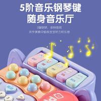 儿童玩具电话机仿真座机女孩婴儿益智早教宝宝音乐手机可咬男孩小