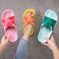 �和�拖鞋夏季����女童男童小孩家用防滑�底可�酃�主外穿�H子�鐾�