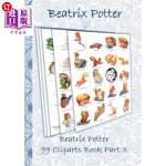 【中商海外直订】Beatrix Potter 99 Cliparts Book Part 3 ( Peter Rabb