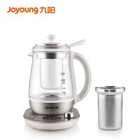 九阳(Joyoung)养生壶带过滤网炖盅家用多功能钢化玻璃电热水壶1.5L煮茶壶K15-D10