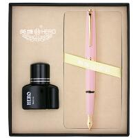 HERO英雄981钢笔墨水套装 墨水笔 铱金笔 男女士练字书法笔 礼物礼品盒