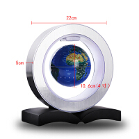 磁悬浮地球仪办公室桌面客厅儿童生日创意乔迁新居装饰品开业送人摆件礼物 4寸地球仪