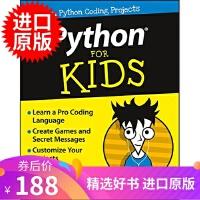 威利傻瓜书:给孩子看的Python 英文原版 Python For Kids For Dummies