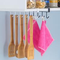 橱柜收纳挂架挂锅铲勺子多功能家居用品厨房置物架吊柜下挂钩排钩