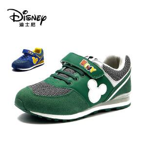 鞋柜/迪士尼冬款卡通米奇男童鞋运动休闲鞋