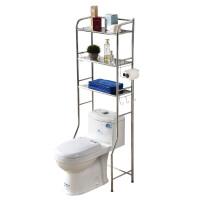 马桶上方置物架 不锈钢马桶置物架浴室置物架2层3层卫生间置物架落地洗衣机置物架 304