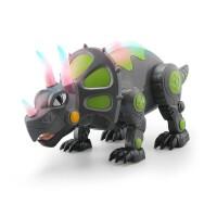 智能遥控变形恐龙玩具会走路跳舞霸王龙可编程充电一键变形机器人 标配