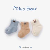 2018新款秋冬初生宝宝松口袜子婴儿袜棉袜子